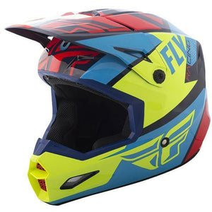 Fly Racing Elite Guild Helmet Helmet Fly Racing Red/Blue/Hi-Vis X-Small
