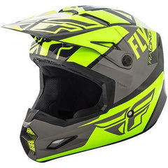 Fly Racing Elite Guild Helmet Helmet Fly Racing Hi-Vis/Grey/Black X-Small