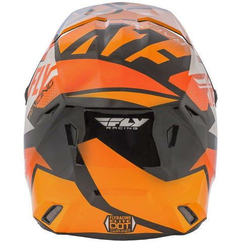 Orange/White/Black Back