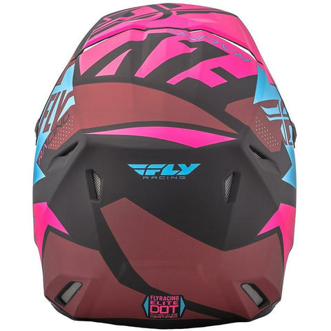 Matte Neon Pink/Blue/Black Back