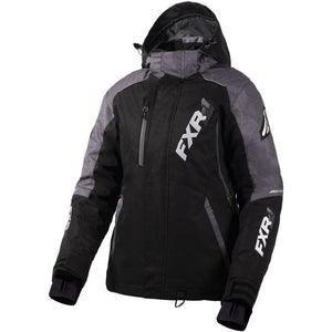 FXR Vertcal Pro Women's Jacket 2020 Jacket FXR 2020 Black/Mid Grey Heather 2