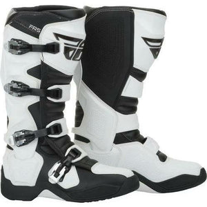 Fly Racing FR5 Boots 21 Footwear Fly Racing White 7