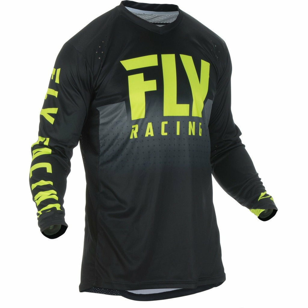 Fly Racing Lite Hydrogen Jersey Jersey Fly Racing BLACK/HI-VIS M