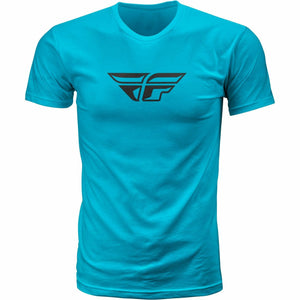Fly Racing F-Wing Tee T-Shirt Fly Racing TURQUOISE SM