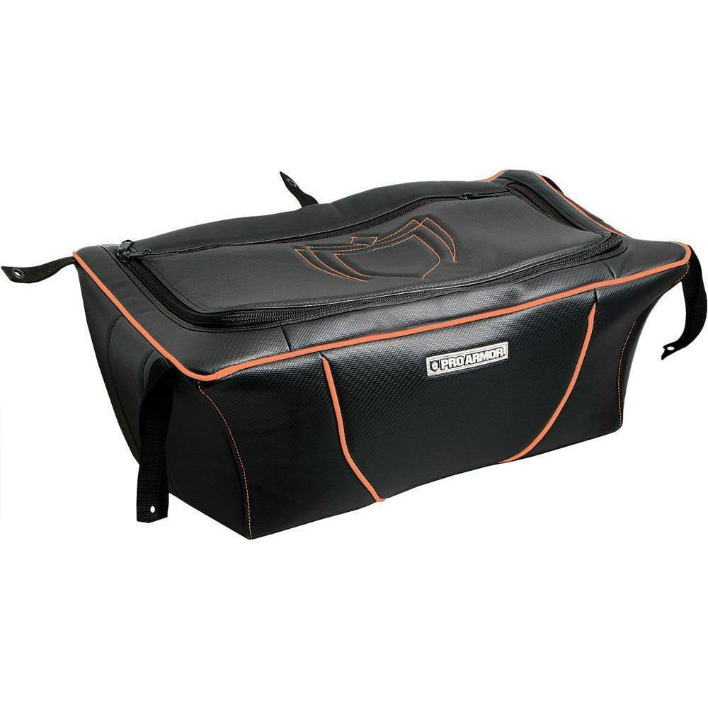 PRO ARMOR MULTI PURPOSE BED STORAGE BAG Cargo PRO ARMOR BLACK W/ORANGE