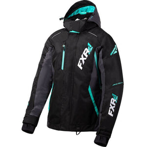FXR Vertcal Pro Women's Jacket 2020 Jacket FXR 2020 Black/Charcoal/Mint 2