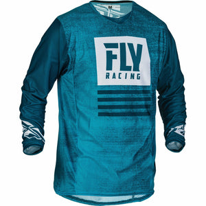 Fly Racing 2019.5 Kinetic Mesh Noiz Jersey Jersey Fly Racing BLUE/NAVY 2X