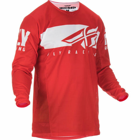Fly Racing Kinetic Shield Jersey Jersey Fly Racing Red/White 2X