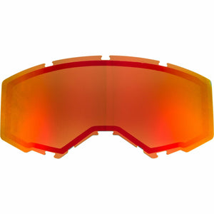 Fly Racing 2019 Zone/Focus Snow Goggle Replacement Non-Vented Lens Accessories Fly Racing RED MIRROR/BROWN