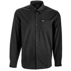 Fly Racing Button Up Shirt Flannel Fly Racing BLACK S