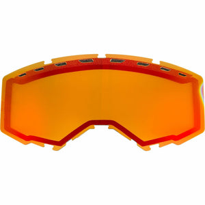 Fly Racing 2019 Zone/Focus Snow Goggle Replacement Vented Lens Accessories Fly Racing RED MIRROR/PERSIMMON