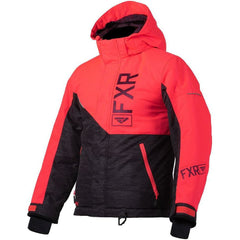 FXR Fresh Youth Jacket 2020 Jacket FXR 2020 Char Jersey/Coral/Plum 10