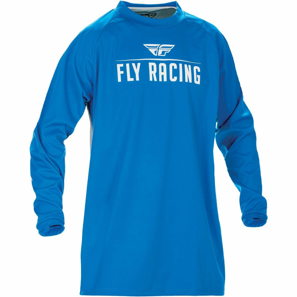 Fly Racing Moto Windproof Jersey Jersey Fly Racing Blue/Grey 2X