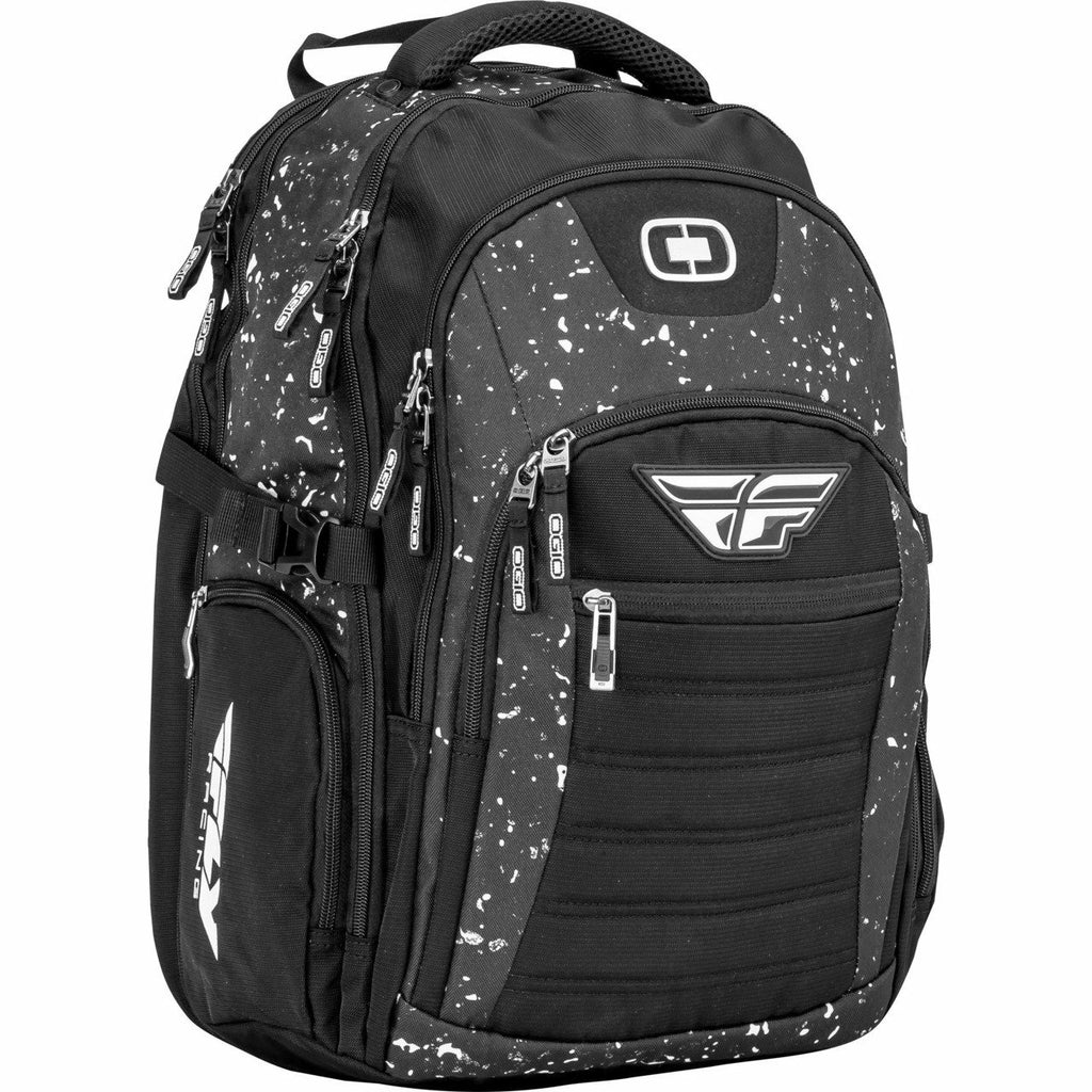 Fly Racing Ogio Urban Backpack Bag Fly Racing OGIO URBAN BACKPACK BLACK/WHITE