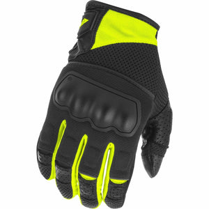 Fly Racing Coolpro Force Gloves 21 Fly Racing 2021 Black/Hi-Vis 21 2X