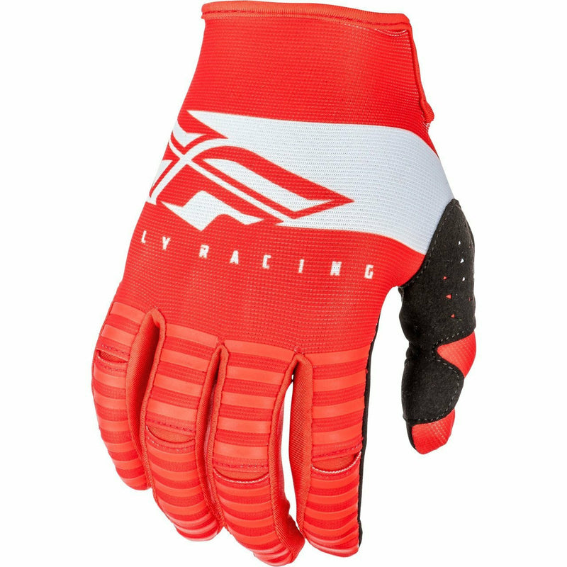 Fly Racing Kinetic Shield Gloves Gloves Fly Racing RED/WHITE 06