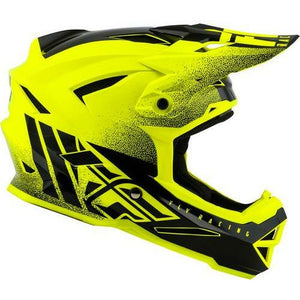 Fly Racing Default Helmet Helmet Fly Racing HI-VIS YELLOW/BLACK YM