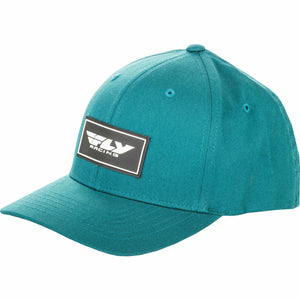 Fly Racing Stock Hat Hat Fly Racing DEEP TEAL SM/MD