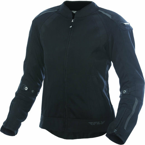 Fly Racing Women's Coolpro Street Jacket Jacket Fly Racing BLACK XS