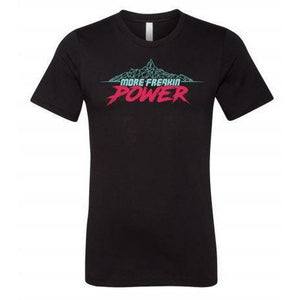 MFP W Mountain Tee Casual MoreFreakinPower Black SM