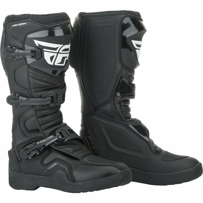 Fly Racing Maverick Moto Boots Footwear Fly Racing BLACK 11