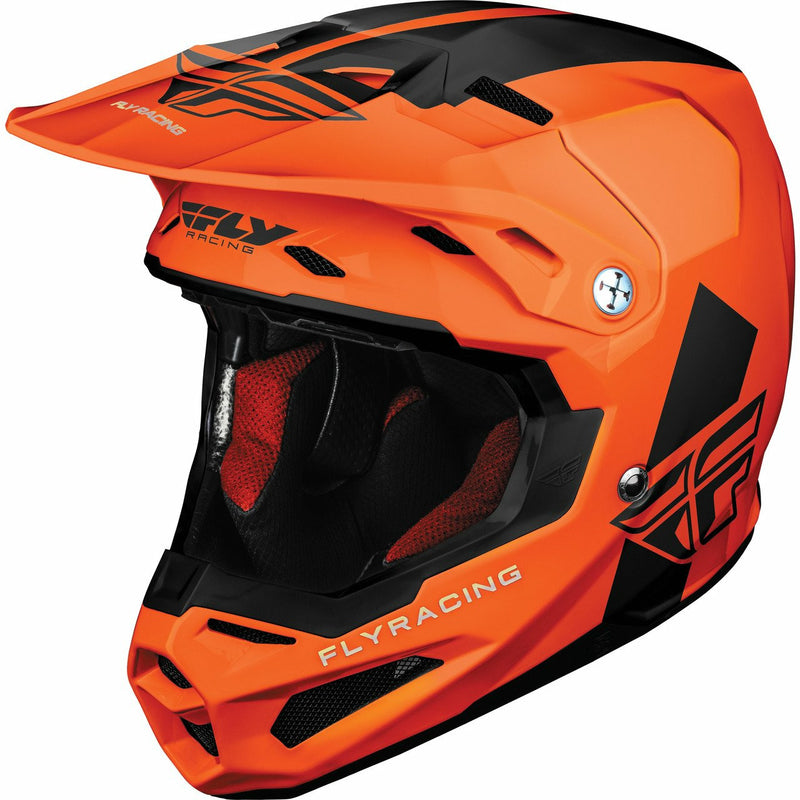 Fly Racing Formula Origin Cold Weather Helmet Fly Racing Off-Road Orange 2X