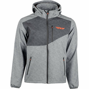 Fly Racing Checkpoint Jacket Jacket Fly Racing GREY HEATHER/ORANGE 2X
