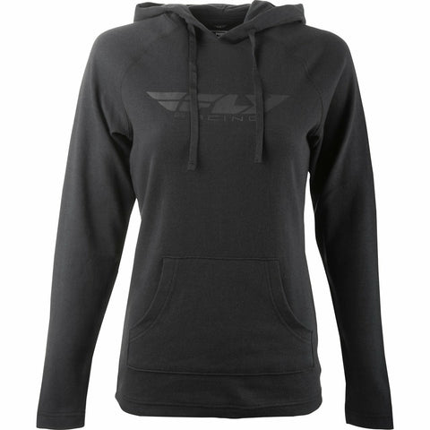 Fly Racing Women's Lightweight Hoodie Hoodie Fly Racing BLACK 2X