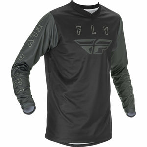 Fly Racing Youth F16 Jersey 21 Fly Racing 2021 BLACK/GREY YL