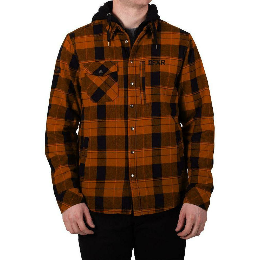 FXR Timber Plaid Insulated Men's Jacket 2020 Jacket FXR 2020 Burnt Orange/Black S