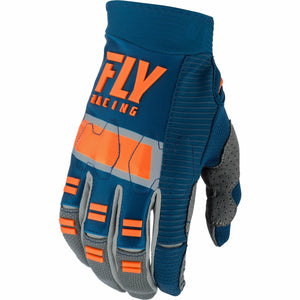 Fly Racing Evolution DST Gloves Gloves Fly Racing NAVY/GREY/ORANGE 07