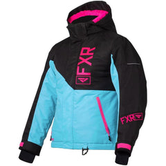 FXR Fresh Youth Jacket 2020 Jacket FXR 2020 Sky Blue/Black/Elec Pink 10