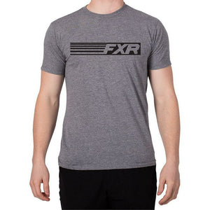 FXR Speed Men's T-Shirt 2020 T-Shirt FXR 2020 Grey Heather/Black S