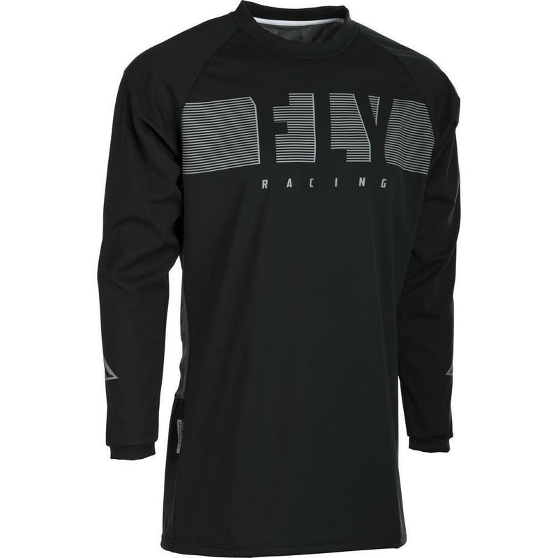 Fly Racing Windproof Jersey Jersey Fly Racing Black/Grey SM