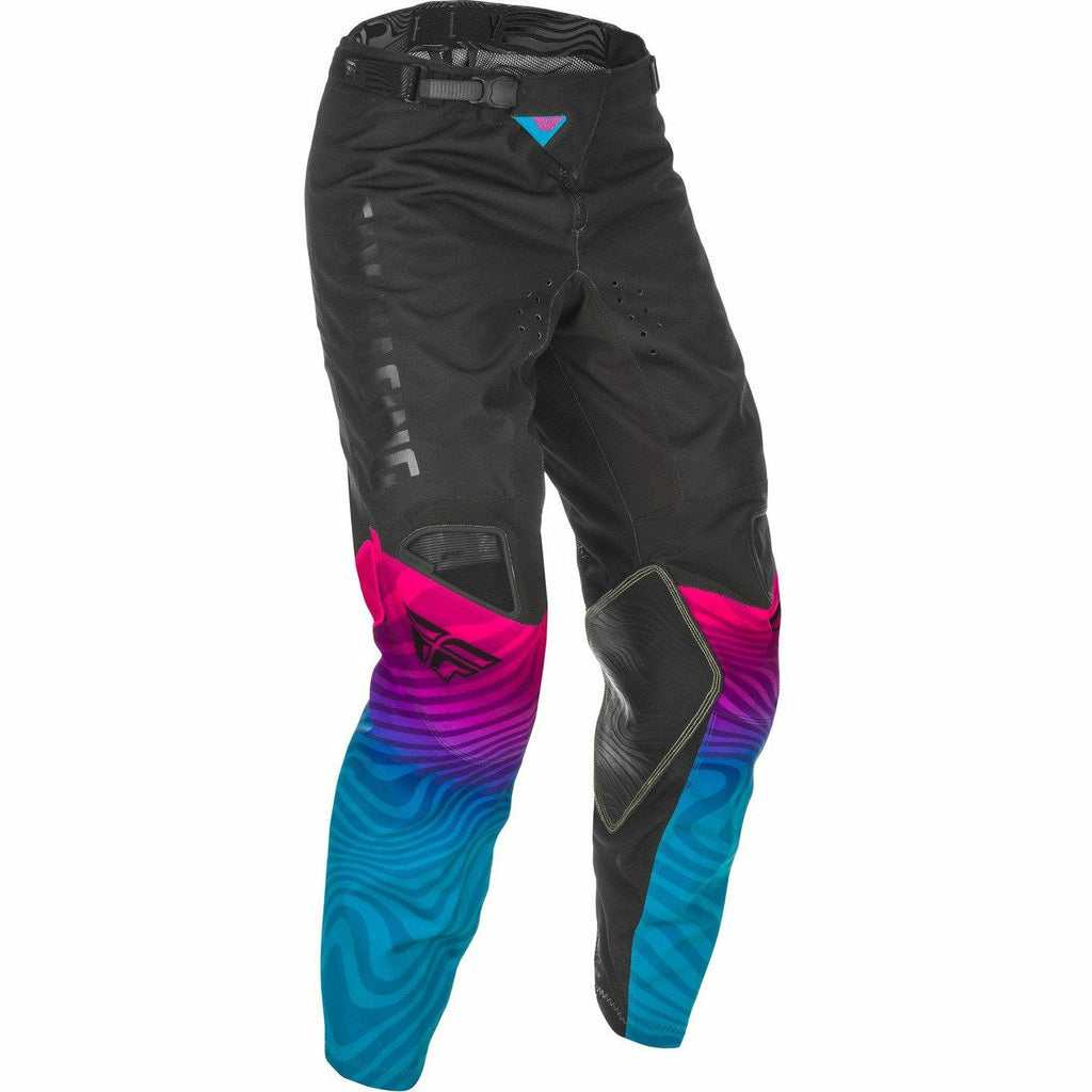Fly Racing Kinetic SE Pants 21 Fly Racing 2021 BLACK/PINK/BLUE 28