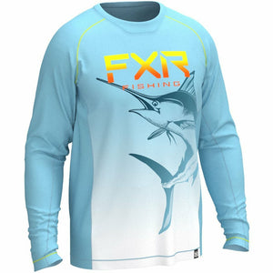 FXR M Big Treble UPF Longsleeve Casual FXR Blue/Marlin S