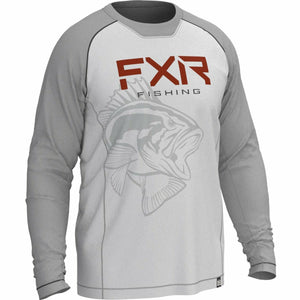FXR M Big Treble UPF Longsleeve Casual FXR Grey/Bass S