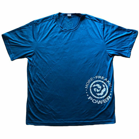 MFP Athletic Men's Tee T-Shirt MoreFreakinPower Blue Small