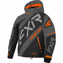 FXR CX Child's Jacket 21 FXR 2021 Black/Orange/Char 2