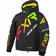 FXR CX Child's Jacket 21 FXR 2021 Black/Sherbert 2