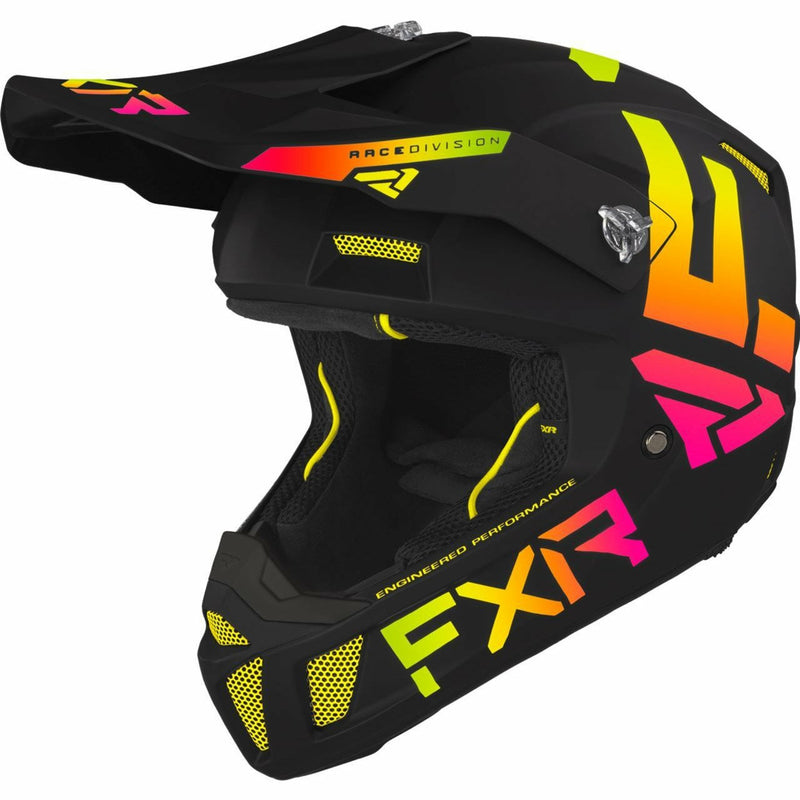 FXR Clutch CX Helmet 21 FXR 2021 Black/White XS