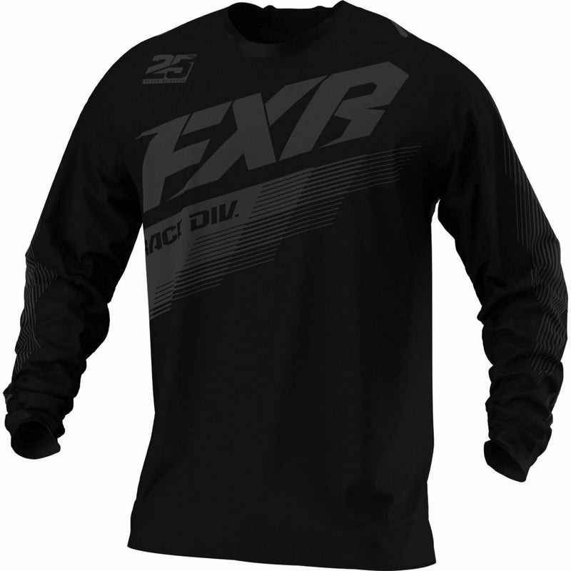 FXR Clutch MX Jersey 21 FXR 2021 Black/Grey/Hi Vis/Nuke Red XS