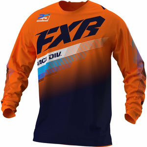 FXR Clutch MX Jersey 21 FXR 2021 Orange/Midnight XS