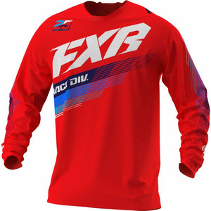 FXR Clutch MX Jersey 21 FXR 2021 Red XS