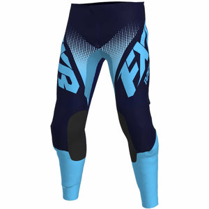FXR Clutch MX Pant Pants & Bibs FXR Sky Blue/Midnight Fade 28