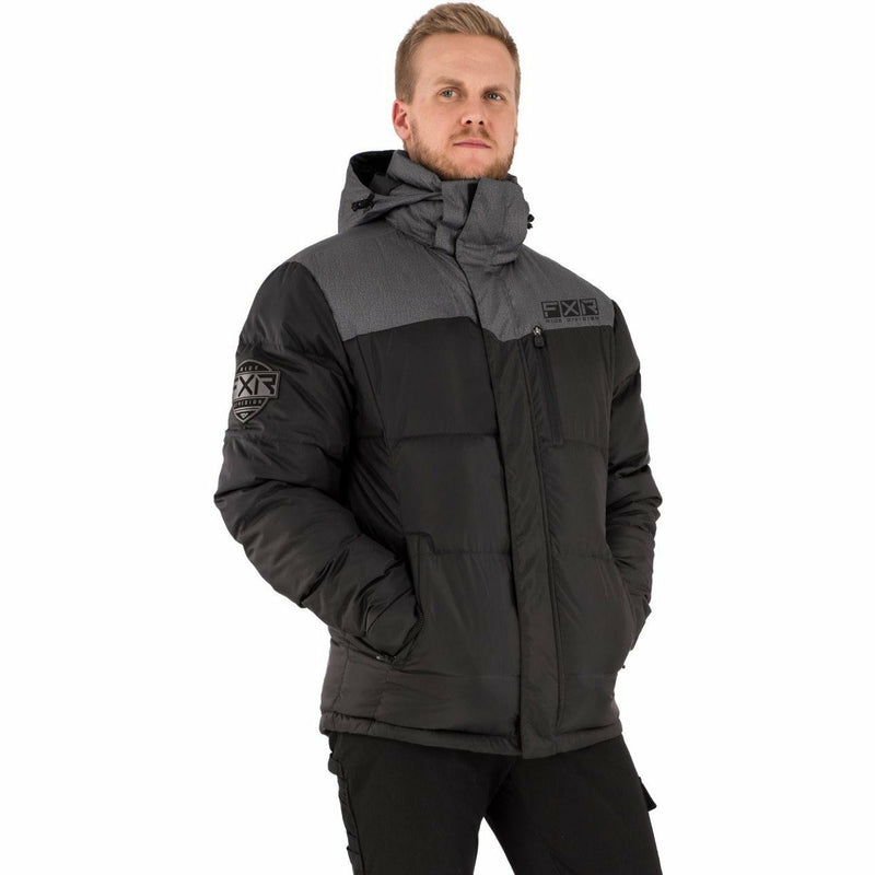 FXR Elevation Men's Synthetic Down Jacket 21 FXR 2021 Black/ Char Heather S