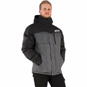 FXR Elevation Men's Synthetic Down Jacket 21 FXR 2021 Grey Heather/Black S