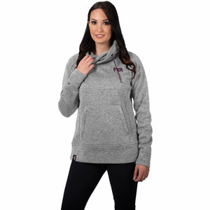 FXR Ember Sweater Women's Pullover 21 Casual FXR Grey Heather/Plum XS