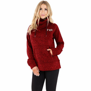 FXR Ember Sweater Women's Pullover 21 Casual FXR Rust Heather/Grey XS