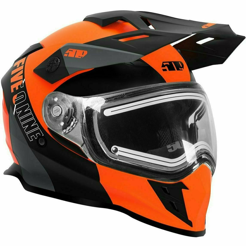 501 Delta R3L Ignite Helmet 21 509 2021 Orange Gray XS